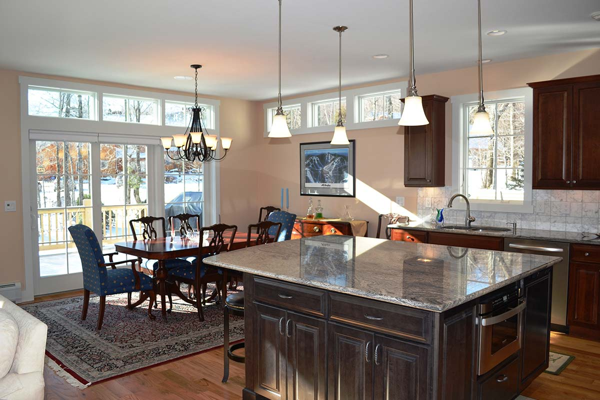 kitchen renovation with custom island rotella