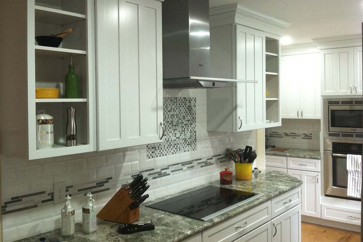 Painted cabinets archives rotella kitchen bath for Shaker style kitchen cabinets manufacturers