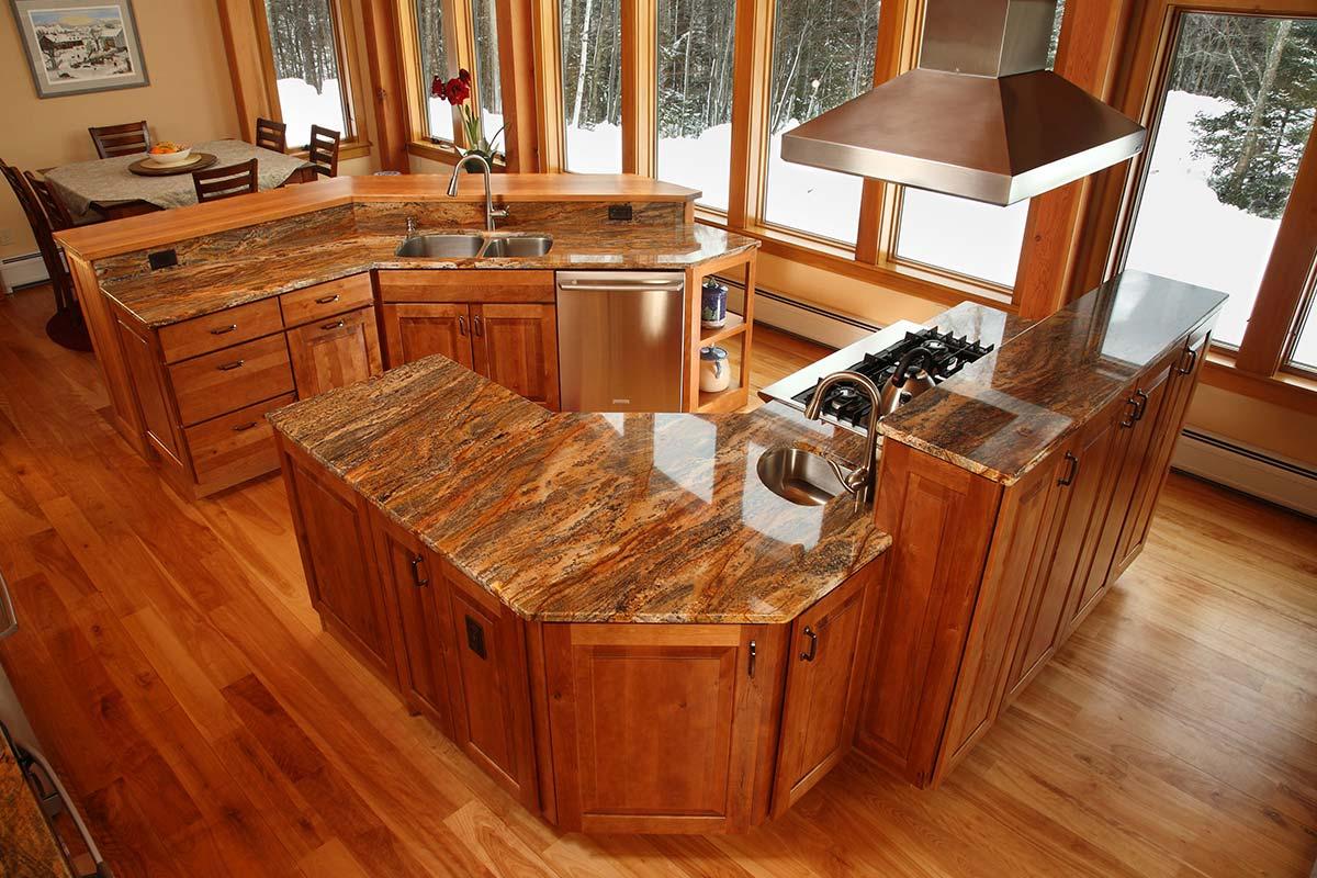 Kraftmaid Kitchen Cabinet Amazing Unique Shaped Home Design