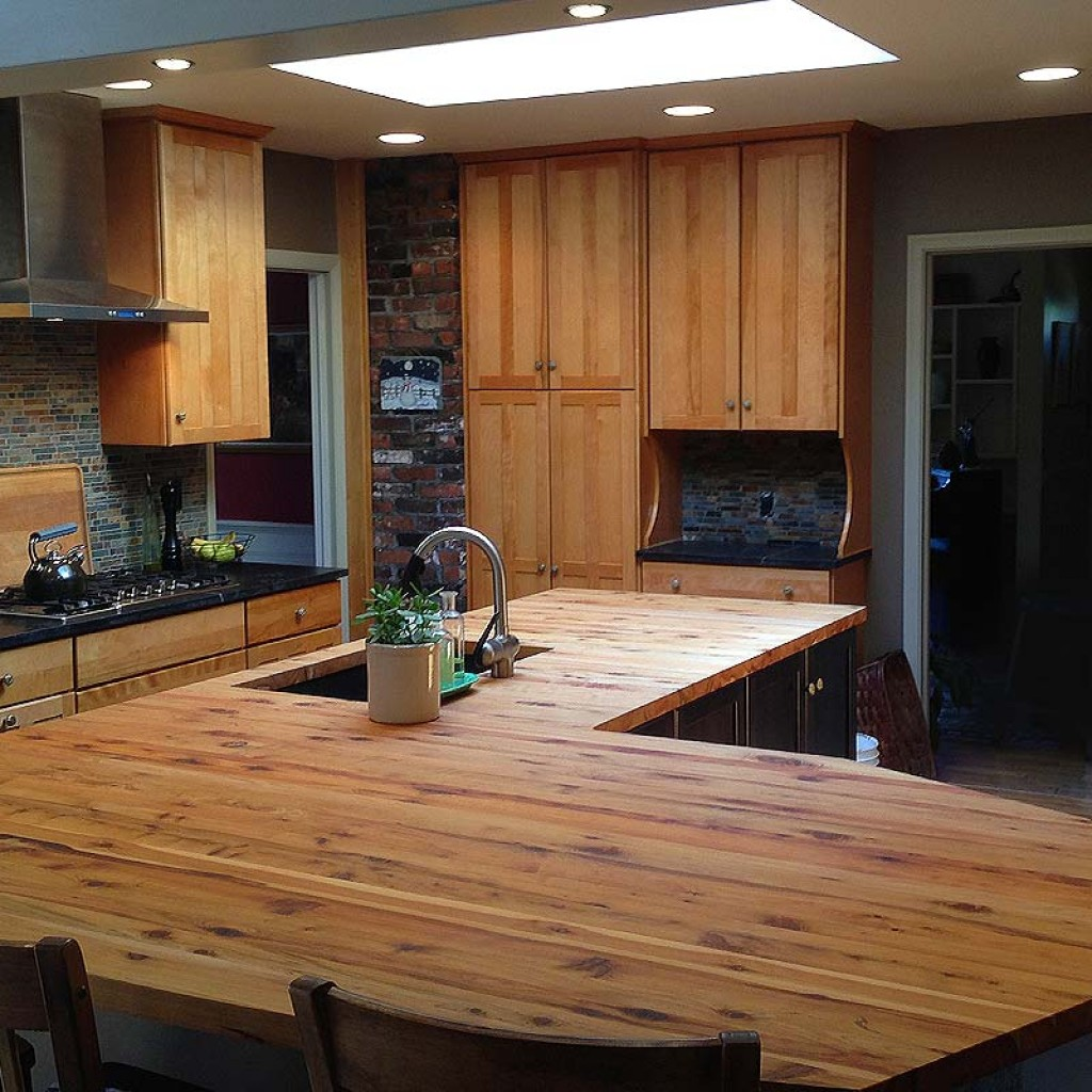 Kitchen Renovation with Shaker Style Kraftmaid Cabinets ...